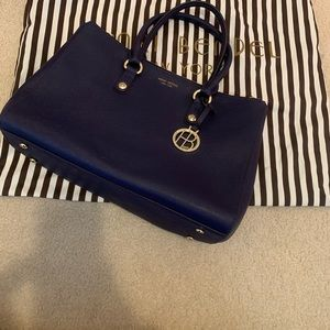 Henri Bendel Satchel navy purse